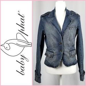 Baby Phat Vintage Rare Denim Jean Jacket